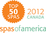 Top 50 Spas 2012 Canada | Spas of America
