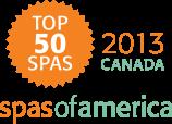 Spas of America 2013 Top 50 Canada